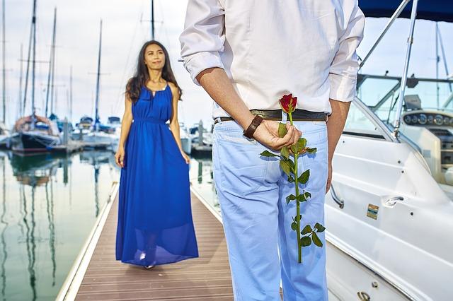 muž romantik
