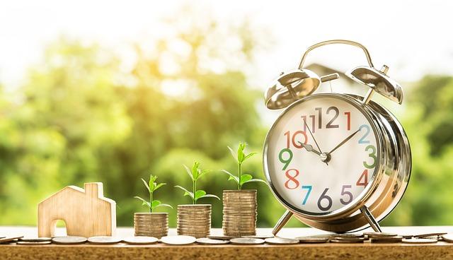 čas a peníze na dům