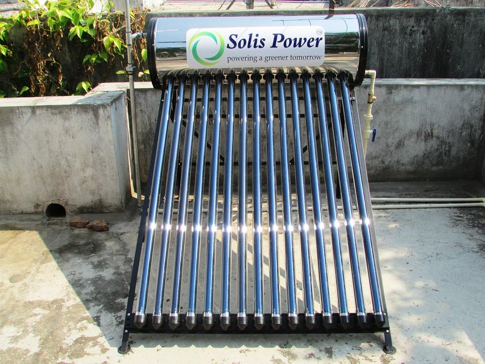 solární ohřívač